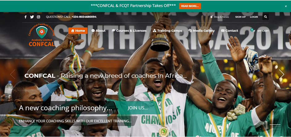 Continental Football Coaching Academy Limited